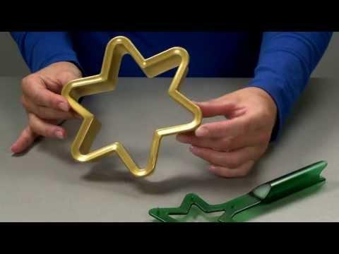 Видео Формочки для печенья из пластмассы Tescoma Пряничная Рождественская звезда DELICIA Tescoma 631414