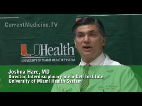 Dr. Hare discusses the use of stem cells to repair myocardial infarcts