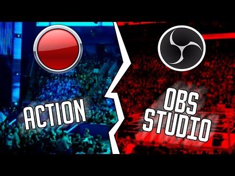 Soft-Battle - Mirillis Action vs OBS Studio