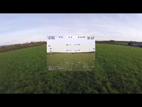Eachine ProDVR Test - X UAV Mini Talon with Eagle Tree Vector OSD
