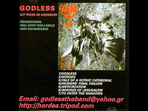 GODLESS - Let There Be Darkness (Promo 2002)