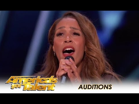 Glennis Grace: STUNNING 39-Year-Old Singer Tribute To Whitney Houston! | America's Got Talent 2018 (видео)