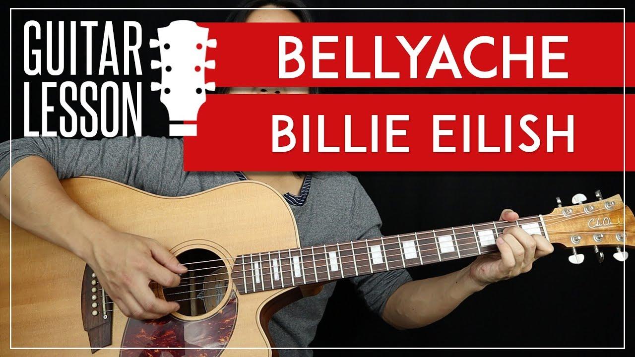 Bellyache Guitar Tutorial – Billie Eilish Guitar Lesson  |TABS + Easy Chords + Guitar Cover|
