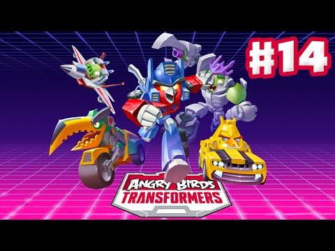Angry Birds Transformers - Gameplay Walkthrough Part 14 - Energon Galvatron Rescued! (iOS)