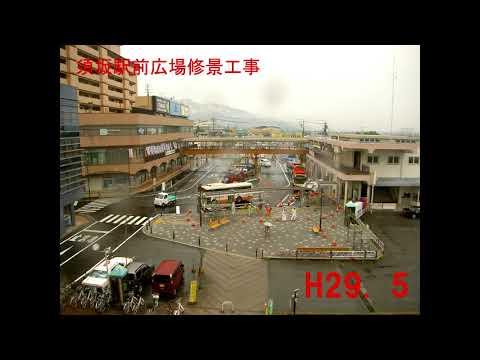 蔵のまち須坂の新たな玄関口へ。須坂駅前広場再整備完了。