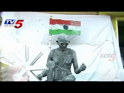 Great Art | Gandhiji Sculpture With Iron Balls : TV5 News
