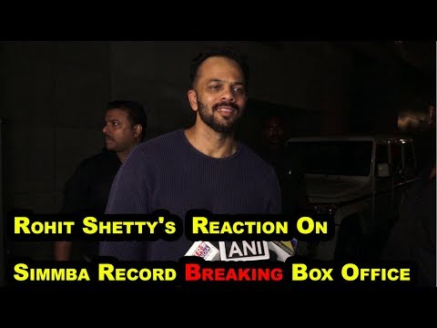 "Rohit Shetty's Reaction On ""SIMMBA"" Record Breaking Box Office"