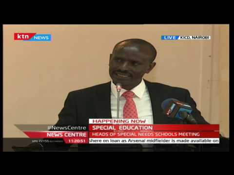 KNUT chairman  Wilson Sossion Full Speech during the annual special education meeting