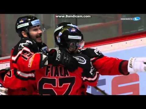Video: Hokejisté Znojma vyhráli se Salcburkem a  vyrovnali finálovou sérii