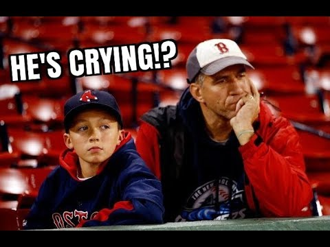 REDSOX FANS REACT TO GIANCARLO STANTON TRADED TO YANKEES! *FUNNY*