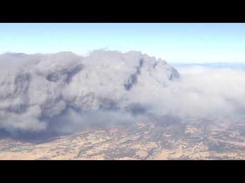 Chopper footage shows Butte Co. Fire