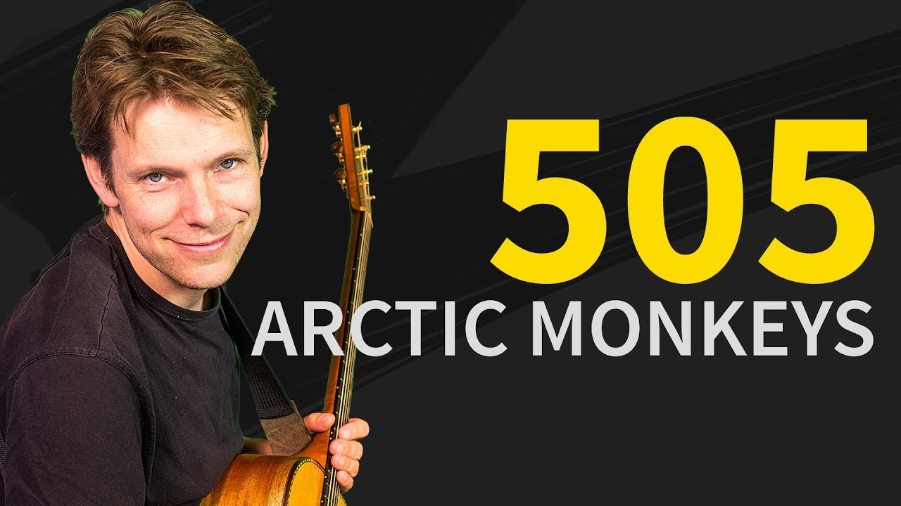 How To Play 505 Arctic Monkeys Easy Beginner Guitar Lesson Tutorial