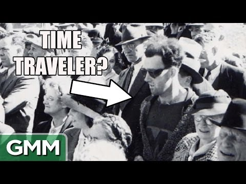 Proof of time travel.