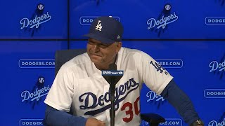Dodgers manager Dave Roberts discusses his team's ability to find ways to win and Cody Bellinger's dramatic go-ahead home run in the 8thCheck out http://MLB.com/video for more!About MLB.com: Former Commissioner Allan H. (Bud) Selig announced on January 19, 2000, that the 30 Major League Club owners voted unanimously to centralize all of Baseball's Internet operations into an independent technology company. Major League Baseball Advanced Media (MLBAM) was formed and charged with developing, building and managing the most comprehensive baseball experience available on the Internet. In August 2002, MLB.com streamed the first-ever live full length MLB game over the Internet when the Texas Rangers and New York Yankees faced off at Yankee Stadium. Since that time, millions of baseball fans around the world have subscribed to MLB.TV, the live video streaming product that airs every game in HD to nearly 400 different devices. MLB.com also provides an array of mobile apps for fans to choose from, including At Bat, the highest-grossing iOS sports app of all-time. MLB.com also provides fans with a stable of Club beat reporters and award-winning national columnists, the largest contingent of baseball reporters under one roof, that deliver over 100 original articles every day. MLB.com also offers extensive historical information and footage, online ticket sales, official baseball merchandise, authenticated memorabilia and collectibles and fantasy games.Major League Baseball consists of 30 teams split between the American and National Leagues. The American League consists of the following teams: Baltimore Orioles; Boston Red Sox; Chicago White Sox; Cleveland Indians; Detroit Tigers; Houston Astros; Kansas City Royals; Los Angeles Angels ; Minnesota Twins; New York Yankees; Oakland Athletics; Seattle Mariners; Tampa Bay Rays; Texas Rangers; and Toronto Blue Jays. The National League, originally founded in 1876, consists of the following teams: Arizona Diamondbacks; Atlanta Braves;