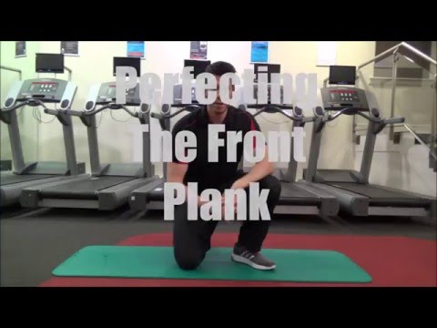 Perfecting The Front Plank