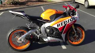 3. Contra Costa Powersports-Used 2015 Honda CBR1000RR Repsol Championship Special 88 miles $13999