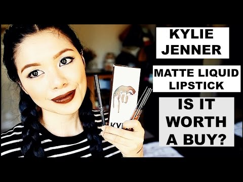 Kylie Jenner Matte Liquid Lipstick & Lip Liner- TESTING THE CLAIMS- Is IT Worth the HYPE?