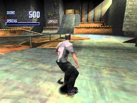 Tony Hawk's Skateboarding Playstation