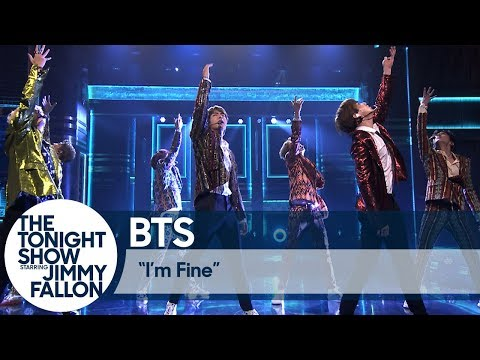 "BTS Performs ""I'm Fine"" on The Tonight Show - Thời lượng: 4:28."