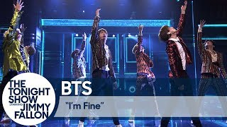 "Video BTS Performs ""I'm Fine"" on The Tonight Show MP3, 3GP, MP4, WEBM, AVI, FLV April 2019"