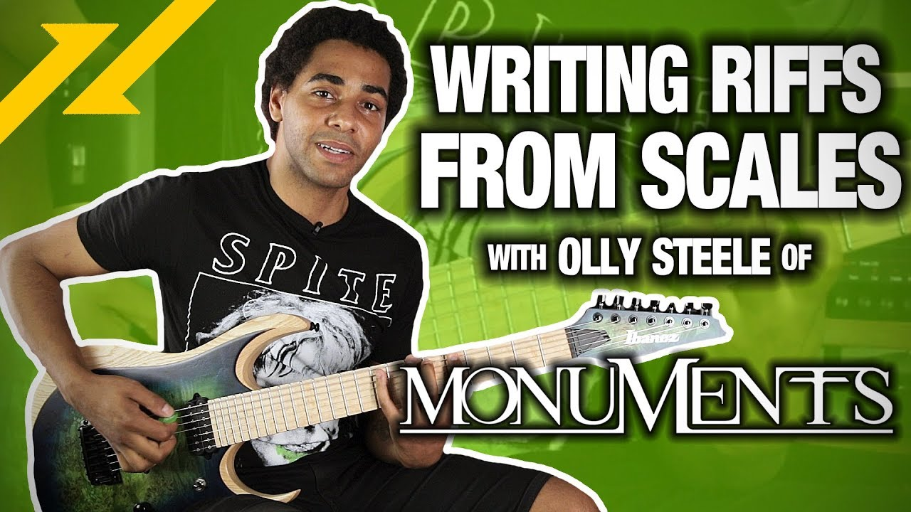 Writing Riffs From SCALES With Olly Steele of MONUMENTS | GEAR GODS