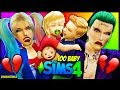 Harley Quinn And Joker Baby Troubles   The Sims 4 100 Baby Challenge Harley Quinn And Joker Ep 6