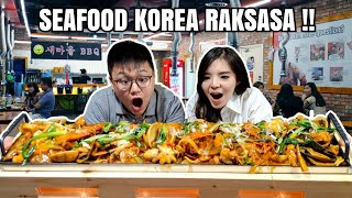 Video MAKAN SEAFOOD KOREA RAKSASA SEPANJANG 1 METER !!! MP3, 3GP, MP4, WEBM, AVI, FLV April 2019