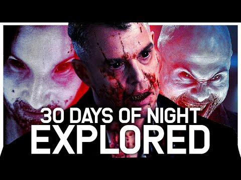 Vampires from 30 Days of Night Viral Analysis | How humans become inhuman monsters | Reuploaded