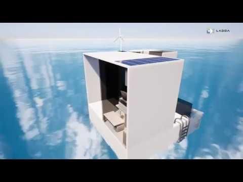 บ้านลอยน้ำ 2030  floating house