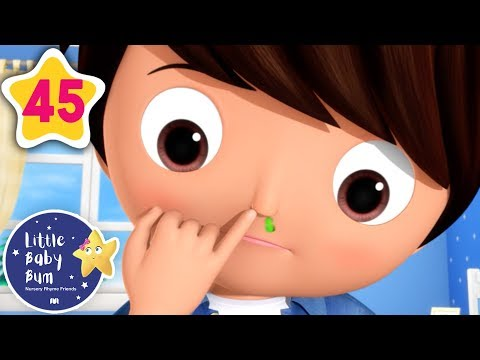 Don't Pick Your Nose! | +More Baby Songs | Nursery Rhymes | Little Baby Bum