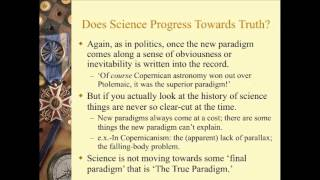 Kuhn on Scientific Progress and Relativism of Truth (Lecture 8, Part 2 of 3)