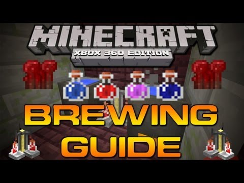 , title : 'Minecraft (Xbox 360): BREWING GUIDE PART 1 - THE BASICS (Nether Wart, Cauldron,'