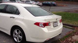 2010 Acura TSX Tech Review, Start Up&Rev, Walk Around, Quick Drive