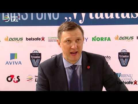 """""""Betsafe–LKL"""" rungtynių komentarai: """"Vytautas"""" - """"Juventus"""" [2018-01-27]"""