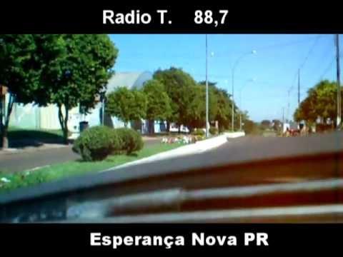 Radio T, auto falante do Veio, Esperança Nova PR. 07/06/2012