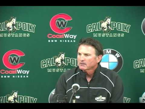 Cal Poly Head Baseball Coach Larry Lee