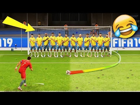 Best FIFA 19 FAILS ● Glitches, Goals, Skills ● #5