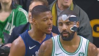 Video Kyrie Irving SHUTS UP TRASH TALKING ROOKIE FOR TAUNTING HIM WITH CROSSOVER!!! MP3, 3GP, MP4, WEBM, AVI, FLV Agustus 2018