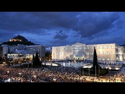 Διαδήλωση στο Σύνταγμα, υπέρ της ευρωπαϊκής προοπτικής της Ελλάδας