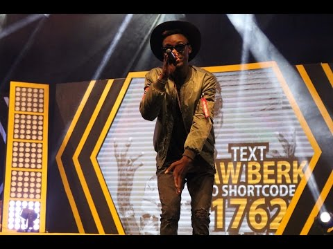 Yaw Berk's Second Performance @mtn Hitmaker 2016