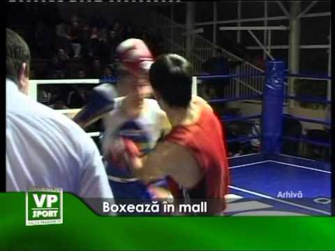 Boxeaza in mall