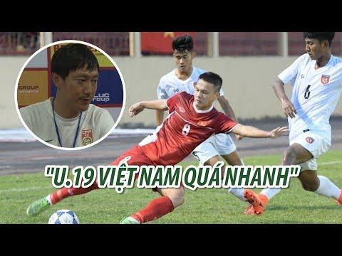 U19 Việt Nam được HLV đội Trung Quốc khen ngợi như thế này - Thời lượng: 94 giây.