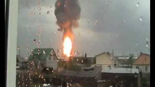 Ulyanovsk Russia  City new picture : Ulyanovsk, Russia: Massive oil tank explosion
