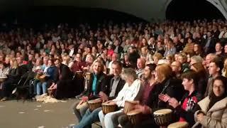 DRUM CONVERSATION Trommelevent bei Nicolai Friedrich Show 2017
