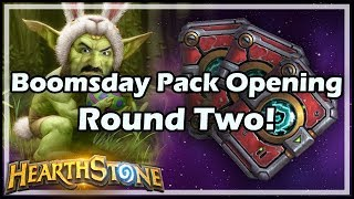 Boomsday Pack Opening Round Two! - Boomsday / Hearthstone