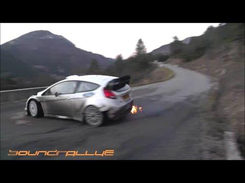 Test Day-Monté-Carlo 2015 - Ott Tänak Ford Fiesta WRC (HD)