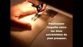 Changer la direction de la couture