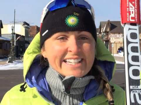 Birkie Greetings from Holly Brooks, Olympian, 2012 Birkie Champion (видео)