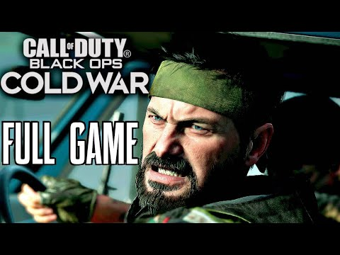 CALL OF DUTY BLACK OPS COLD WAR Gameplay Walkthrough FULL GAME (1080p 60fps)