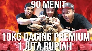 Video GILAA!!!! 10 Kg DAGING SAPI & 1 JUTA HABIS DALAM 90 MNT!!!! | TANBOY KUN vs BLACK | KINTAN BUFFET MP3, 3GP, MP4, WEBM, AVI, FLV Maret 2018